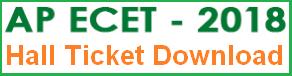 ap ecet hall ticket 2018 download