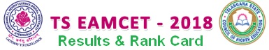 TS Eamcet 2018 Results Rank Card Download