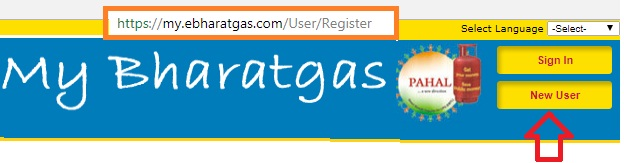 Bharat Gas New Connection Online Booking