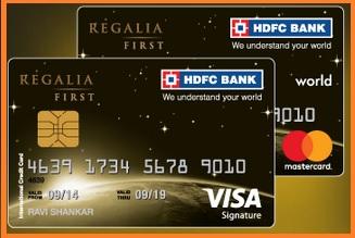 hdfc regalia first credit card benefits