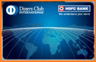 hdfc credit card diners club benefits