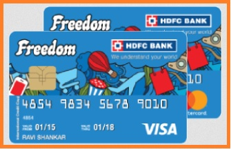 hdfc freedom credit card features and benefits