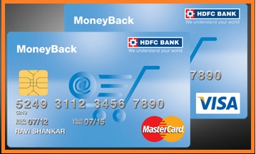 hdfc money back credit card offers