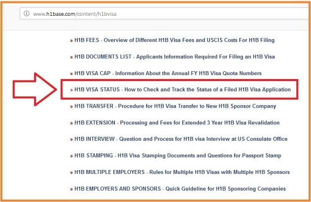 H1B VISA STATUS 2019-2020 Track H1B Visa Application/ Petition Status
