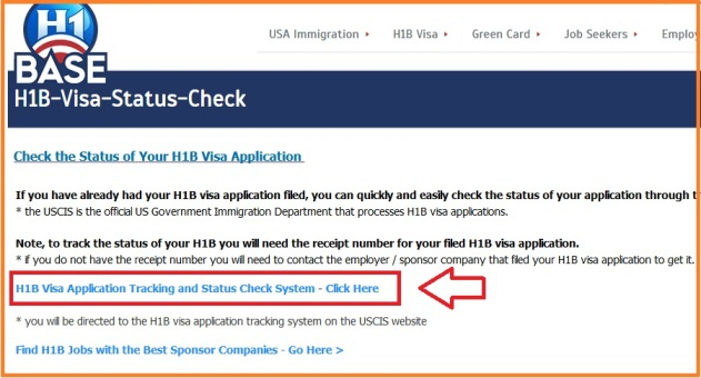 H1B Visa Application Tracking and Status Check