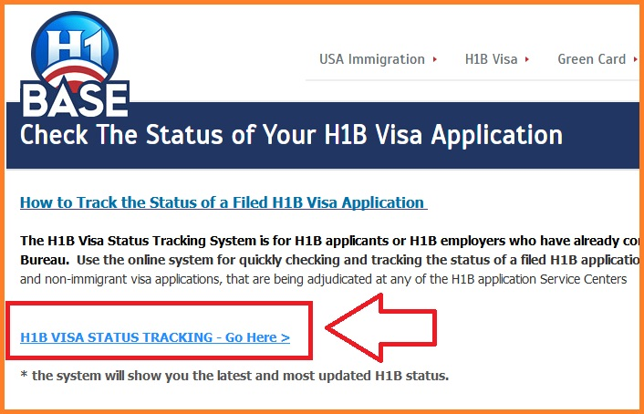 H1B VISA STATUS TRACKING