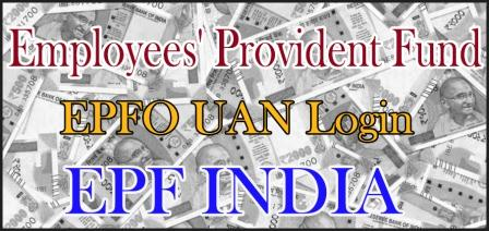 EPF INDIA EPFO UAN Login Activation