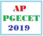 AP PGECET 2019 Online Application