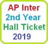 AP Inter 2nd Year Hall Ticket 2019