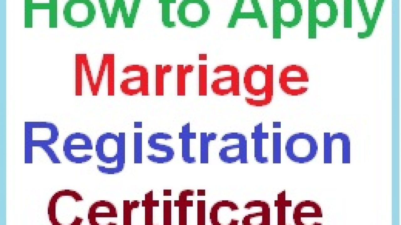 Apply Marriage Registration Certificate in AP State Online