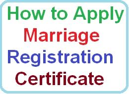 Marriage Registration Certificate in AP