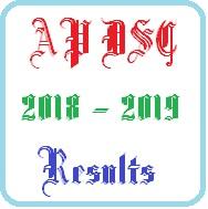ap dsc 2018 2019 results
