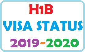 H1B VISA STATUS 2019-2020