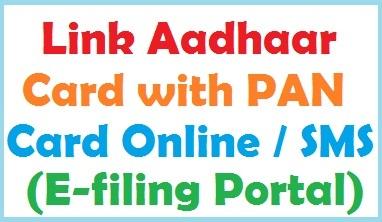 Link Aadhaar Card with PAN Card Online
