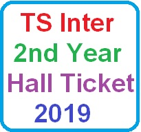 ts inter 2nd year hall ticket 2019
