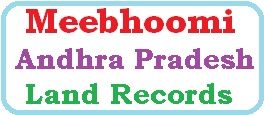 Meebhoomi AP Land Records
