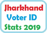 Jharkhand Voter ID Card Stats 2019