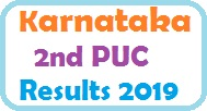 Karnataka 2nd PUC Results 2019