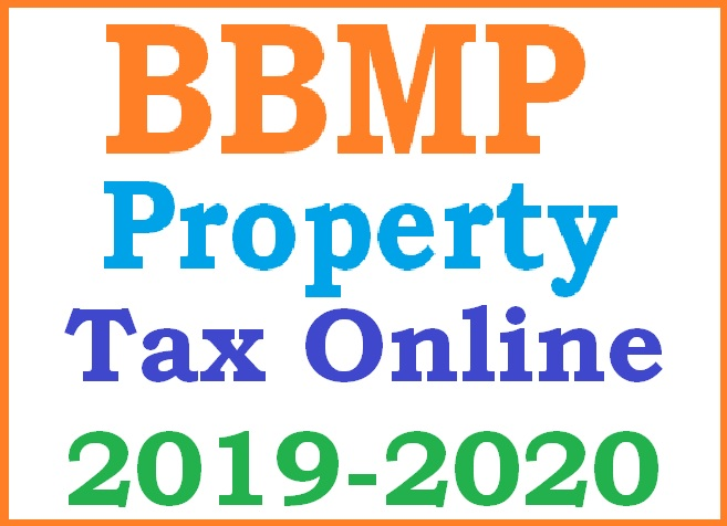BBMP Property Tax Online Payment 2019-2020