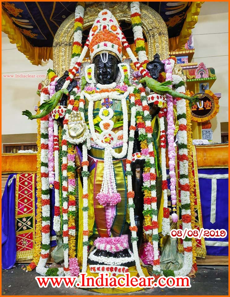 athi varadar darshan today alankaram augest photos
