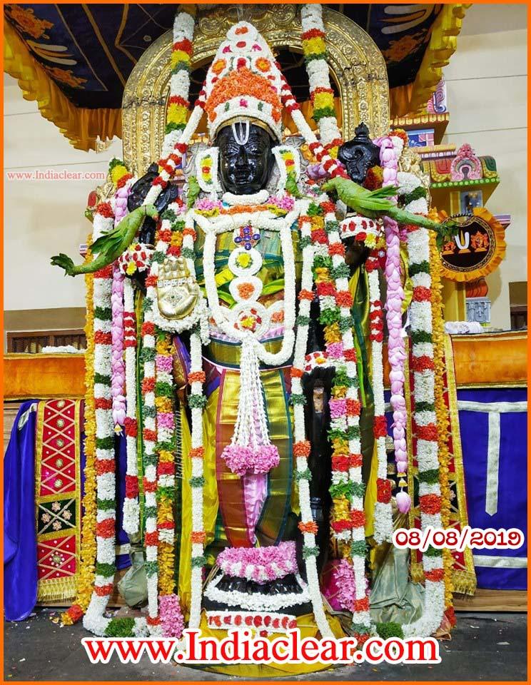 athi varadar darshan today alankaram augest photos