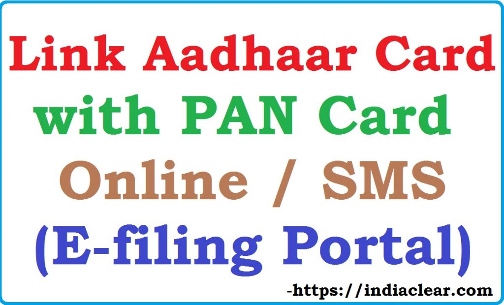 How to Link Aadhaar Card with PAN Card Online?