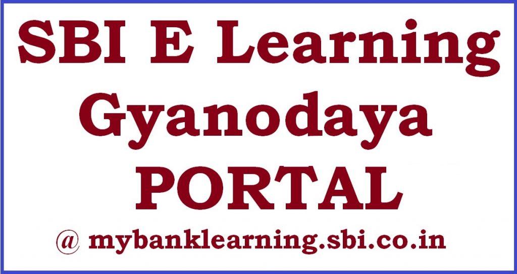 SBI E Learning