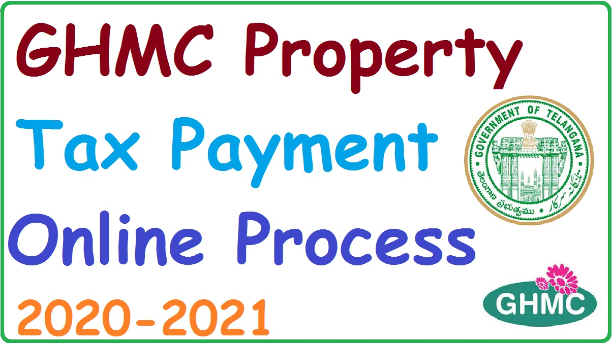 GHMC Property Tax Payment  Online 2020-2021. Door & house number