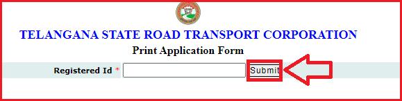 Print TSRTC Bus Pass Online