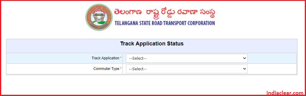 TSRTC Student Bus Pass Application Status