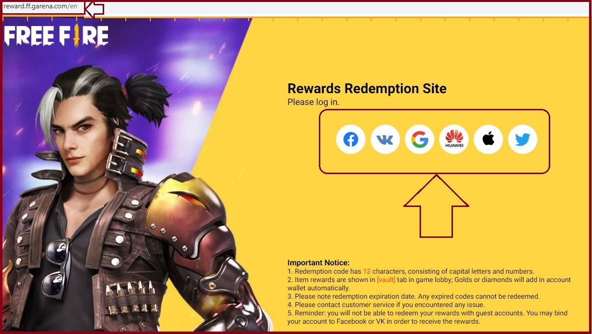 FF Reward